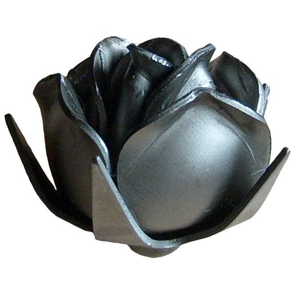 Wrought iron rose 45mm