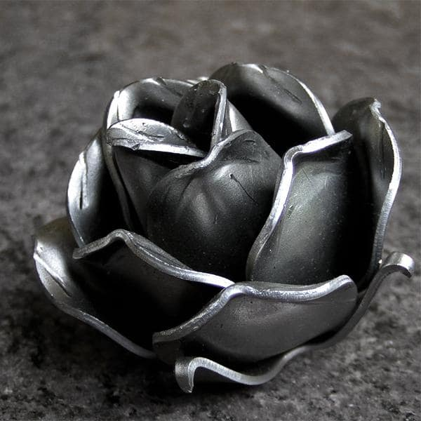 Wrought iron rose 57mm