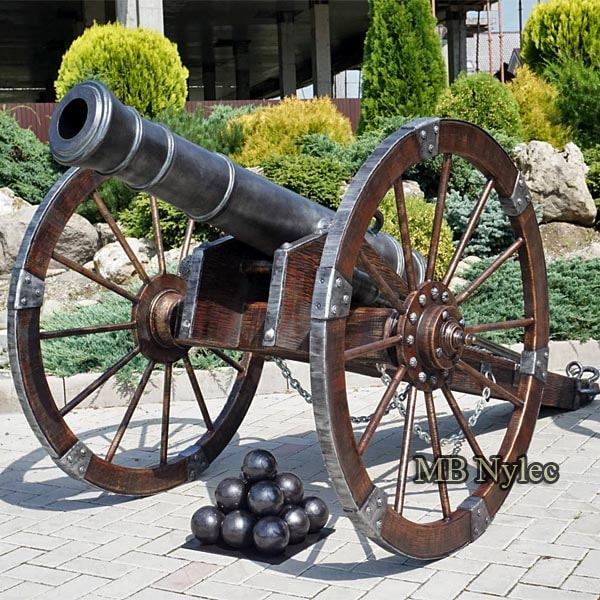 Forged cannon
