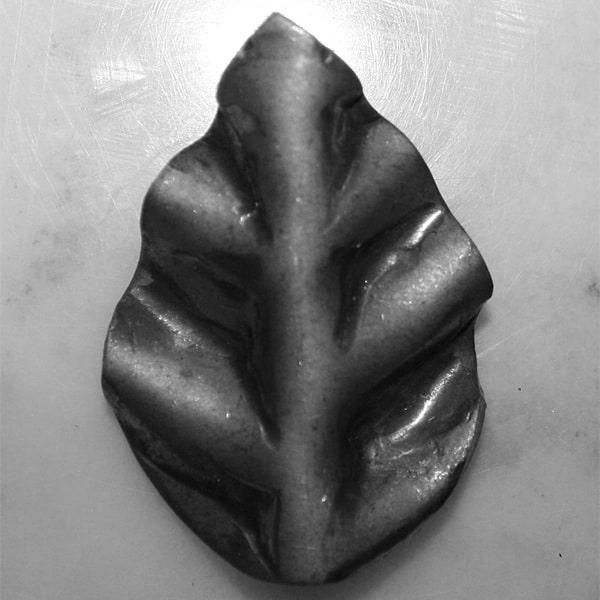 Forged rose leaf l2c