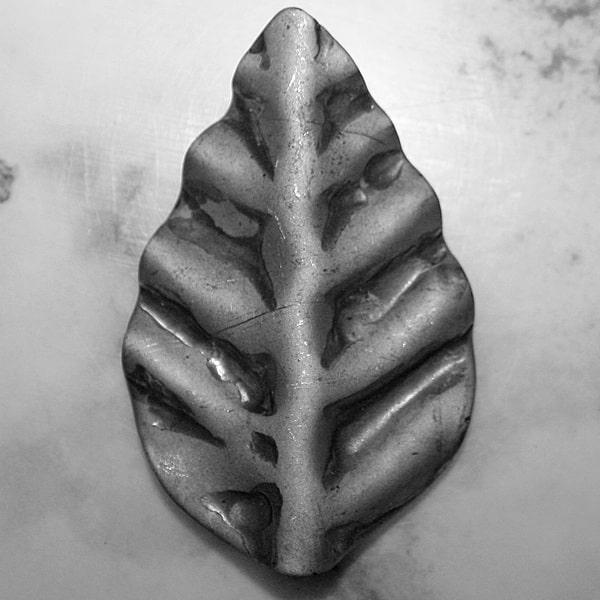 Forged rose leaf l3c